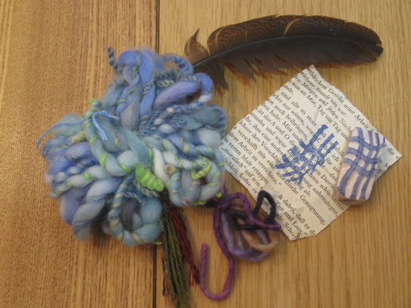 Noor stamp and yarns