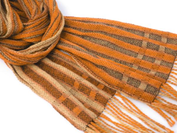 imaginary orange scarf