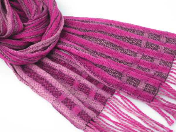 imaginary pink scarf