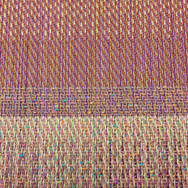 dw stitched different wefts