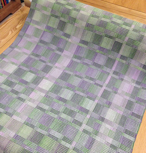 crocus yardage all rolled up