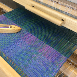 Weaving underway
