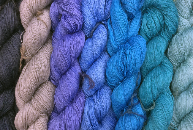 new dyed yarns