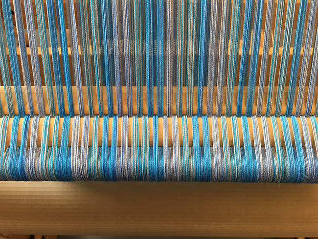 hand-dyed blues lease sticks