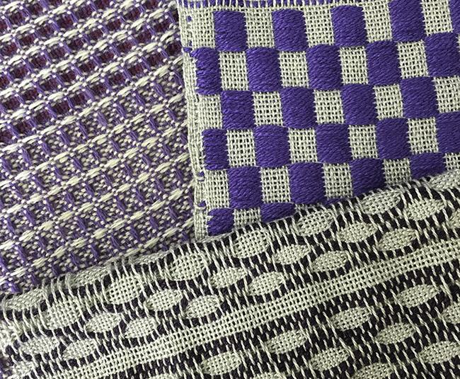 purple samples