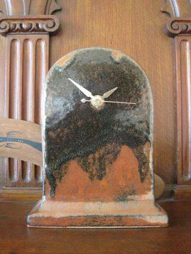 Ceramic clock by Richard Rawson