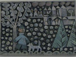 One of Hilke MacIntyre's utterly irresistable tiles
